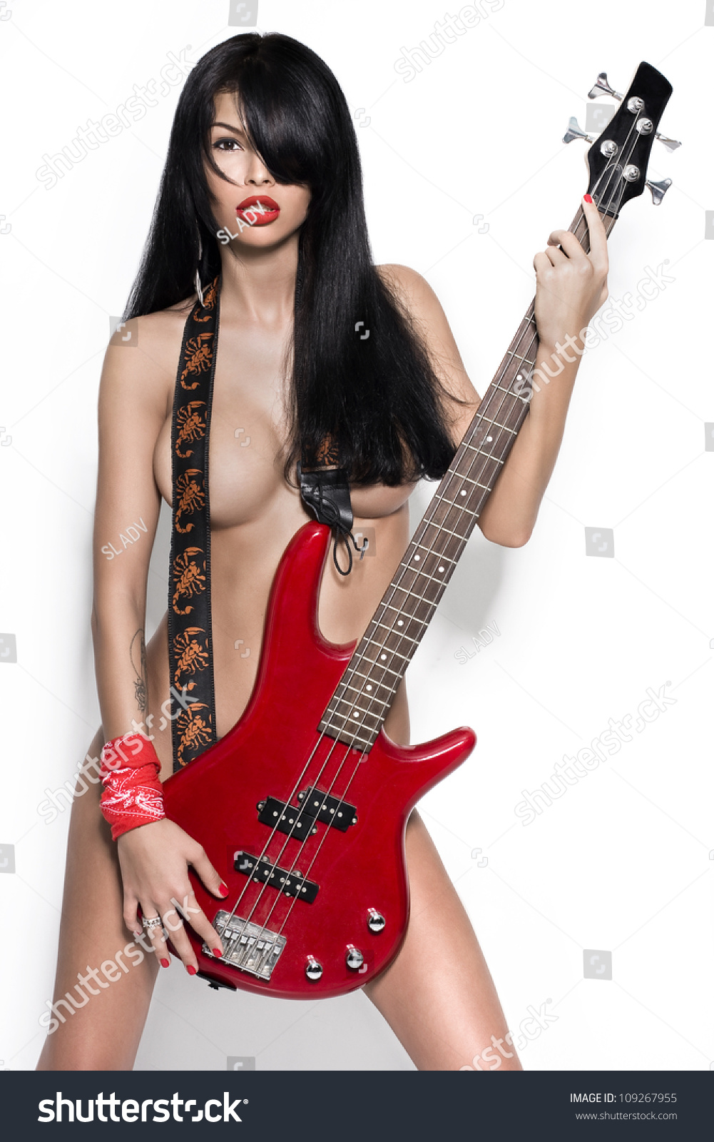 Guitar girl hot music sex video