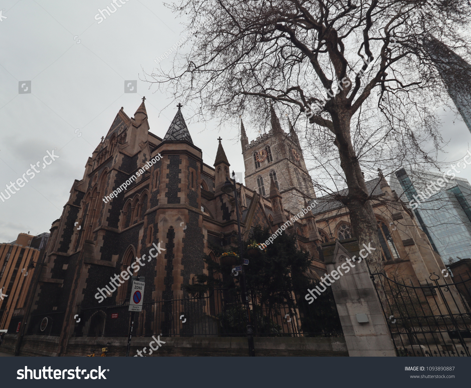 Oldest Cathedral London Stock Photo (Edit Now) 1093890887