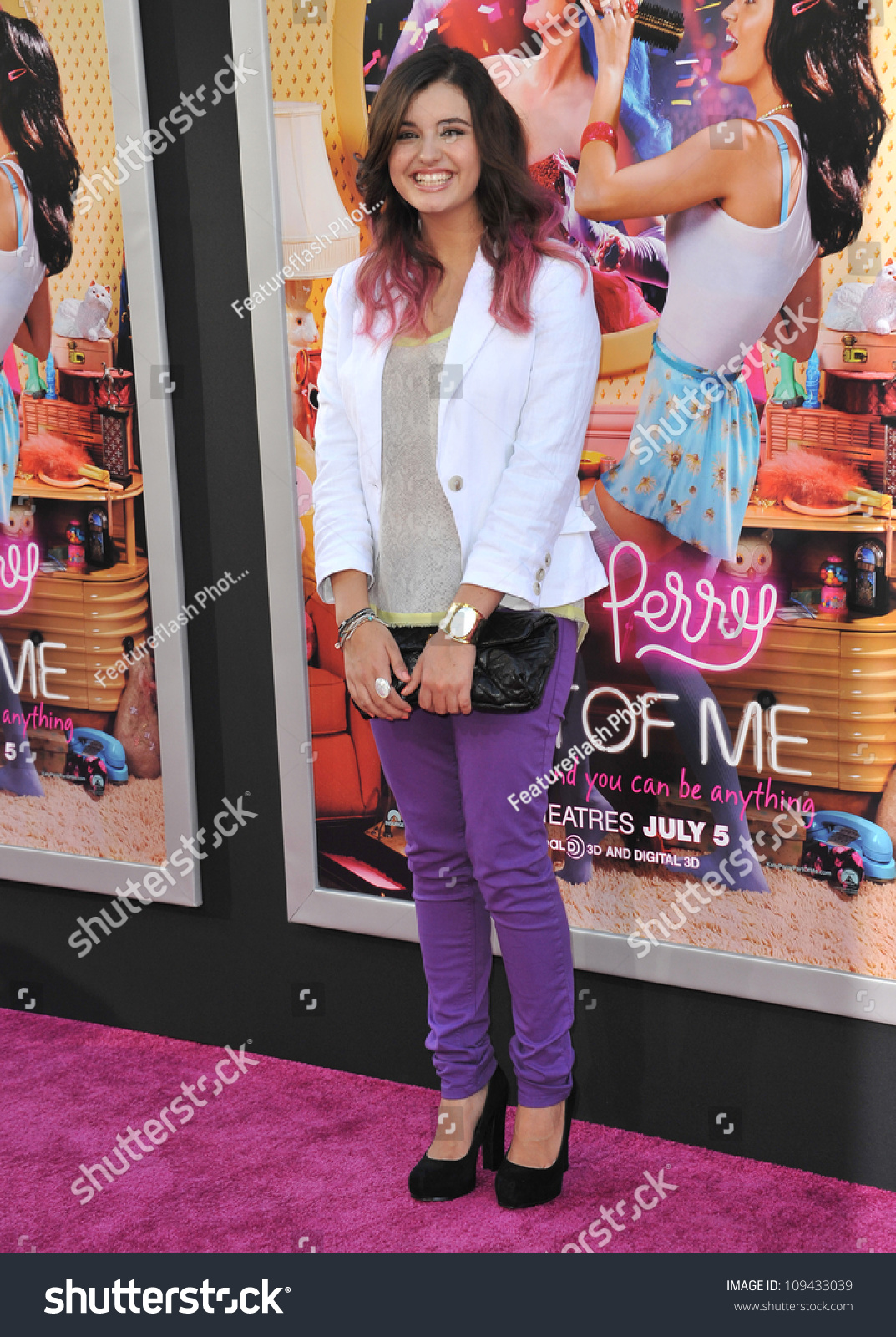 7062c774 Rebecca Black at the Los Angeles premiere of