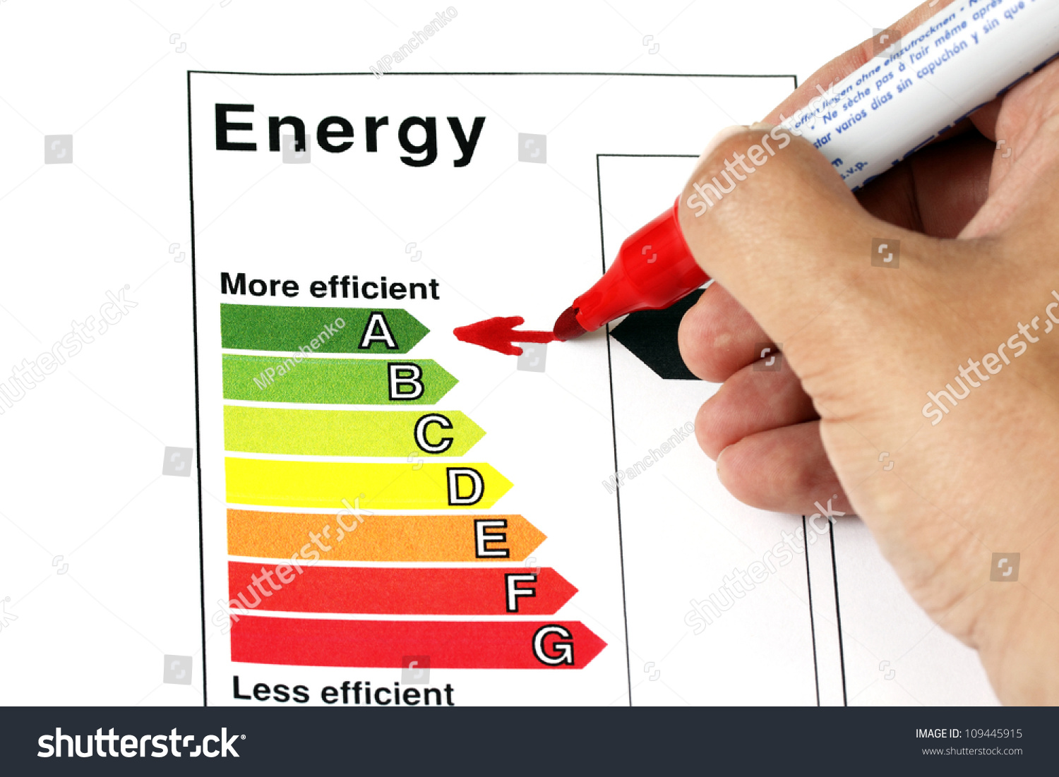 how to find energy in from energy out and efficiency