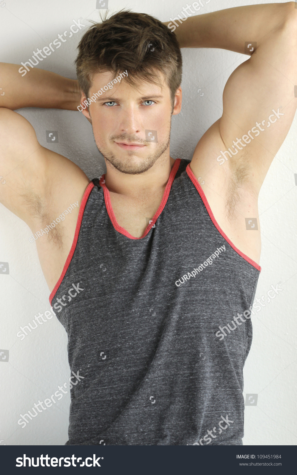 Very Good Looking Young Male Model Stock Photo 109451984