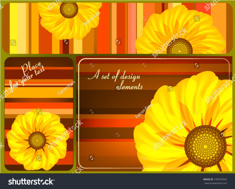 Floral design idea design business cards stock vector 109473542 floral design the idea for the design of business cards labels invitations magicingreecefo Gallery