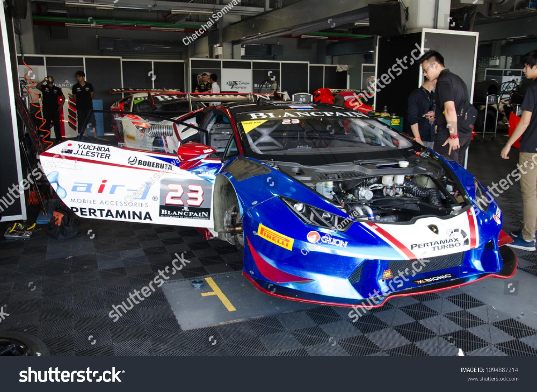 Buriram Thailand 24 Lamborghini Super Trofeo Stock Photo Edit Now