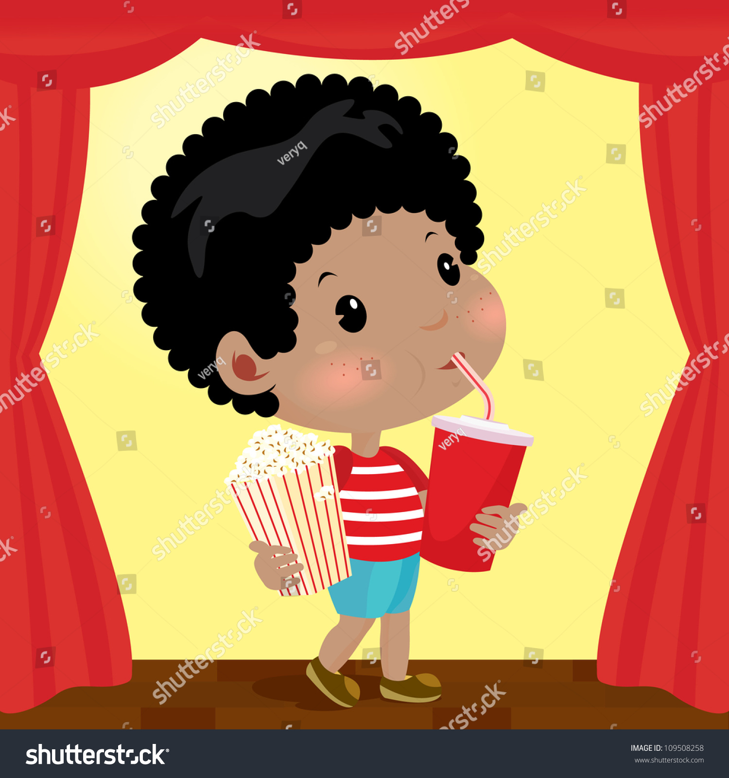 Worksheet Going To The Movies boy eat and drink going to the movies stock vector illustration preview save a lightbox