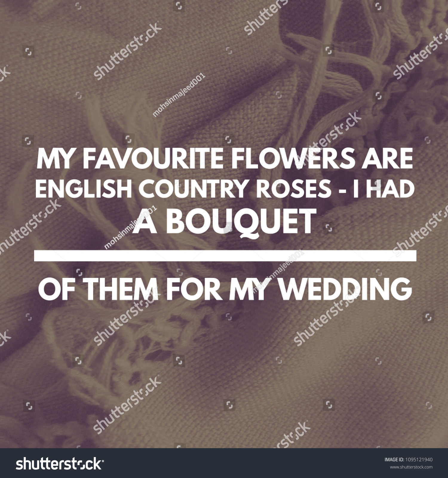 Wedding Quotes Stock Stock Photo Edit Now 1095121940 Shutterstock