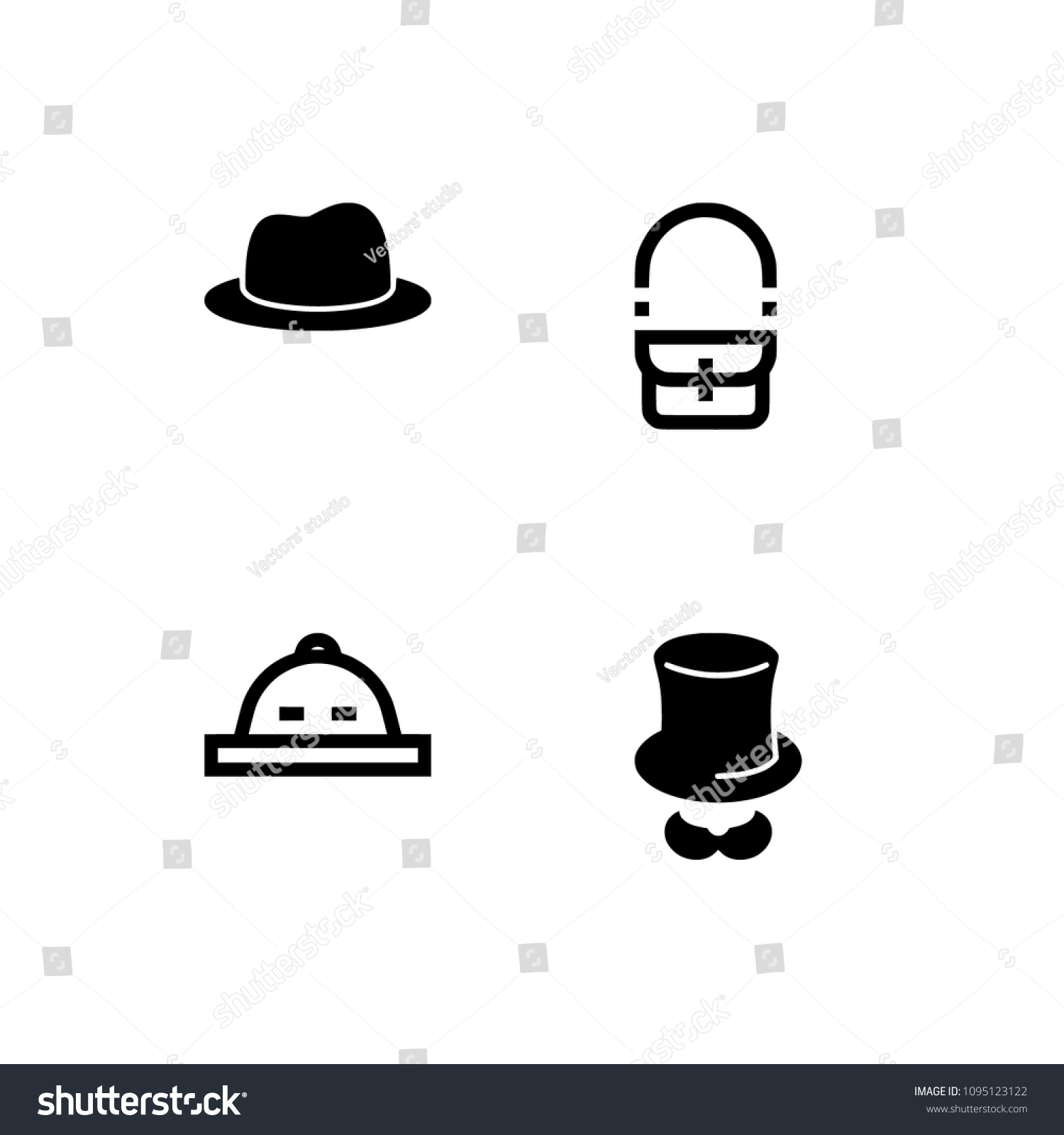 da5ca98b50c Professional pixel perfect black   white icons optimized for both large and  small resolutions. Transparent background. - Vector