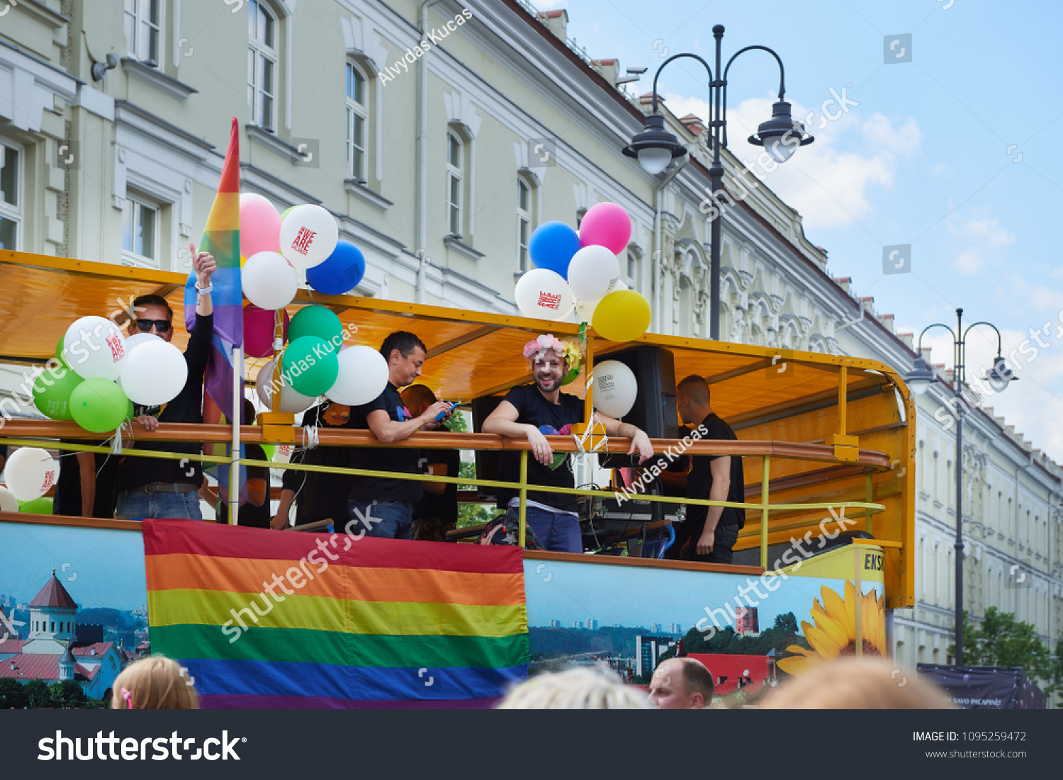 Vilnius, Lithuania-June 18.2016.National Association of Lesbian, Gay,  Bisexual and