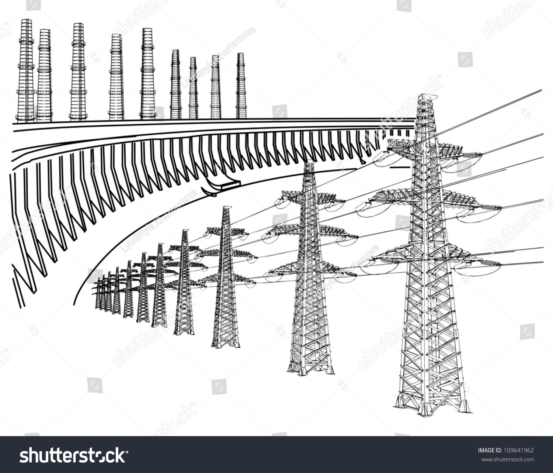 power transmission line dnieper hydro power plant Thermal Energy Examples Thermal Energy Examples
