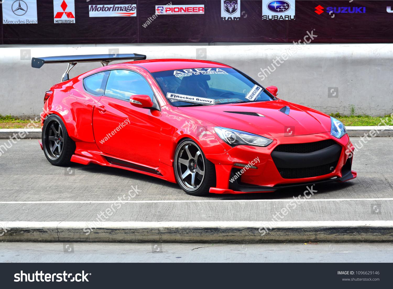 Manila Ph Apr 7 Customized Hyundai Photo De Stock Modifiable 1096629146