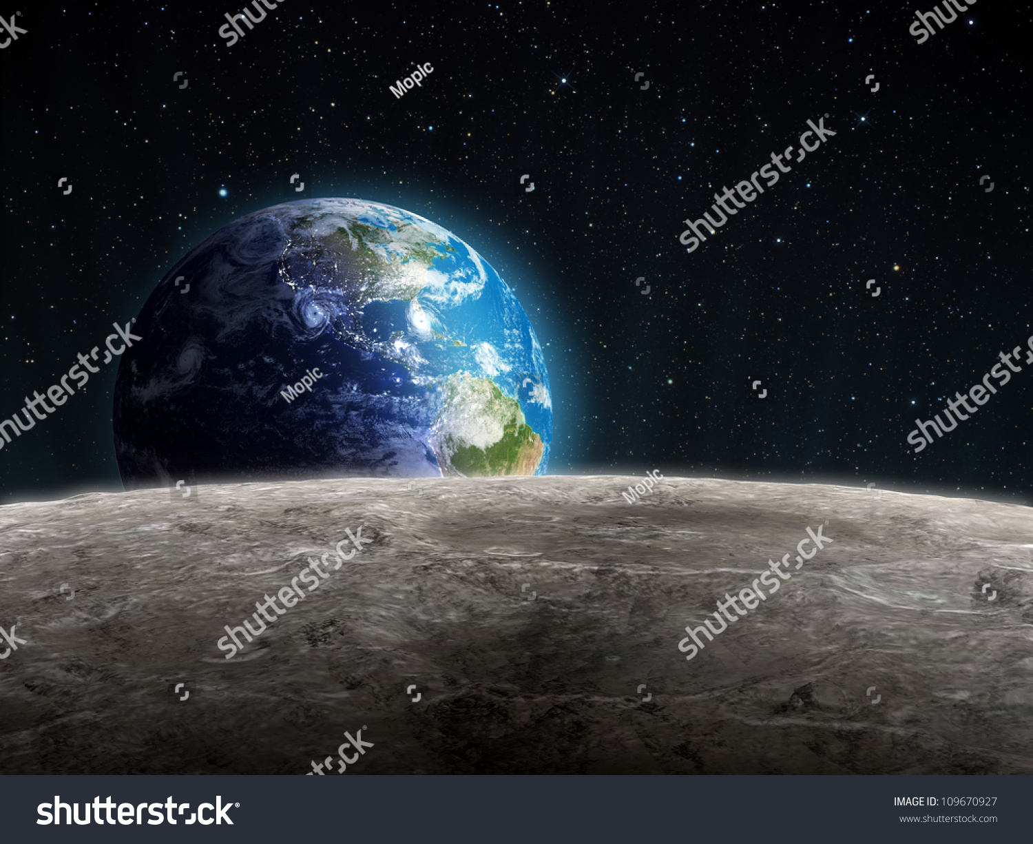 surface of moon as seen from earth - photo #12