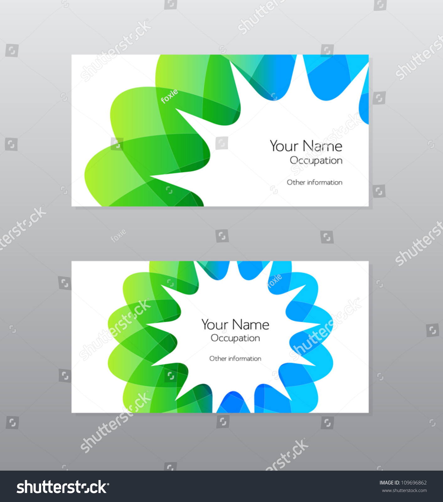 Abstract shapes business cards vector 6th grade algebra word abstract vector green blue geometric shape stock vector 109696862 stock vector abstract vector green and blue geometric shape business card design 109696862 magicingreecefo Choice Image