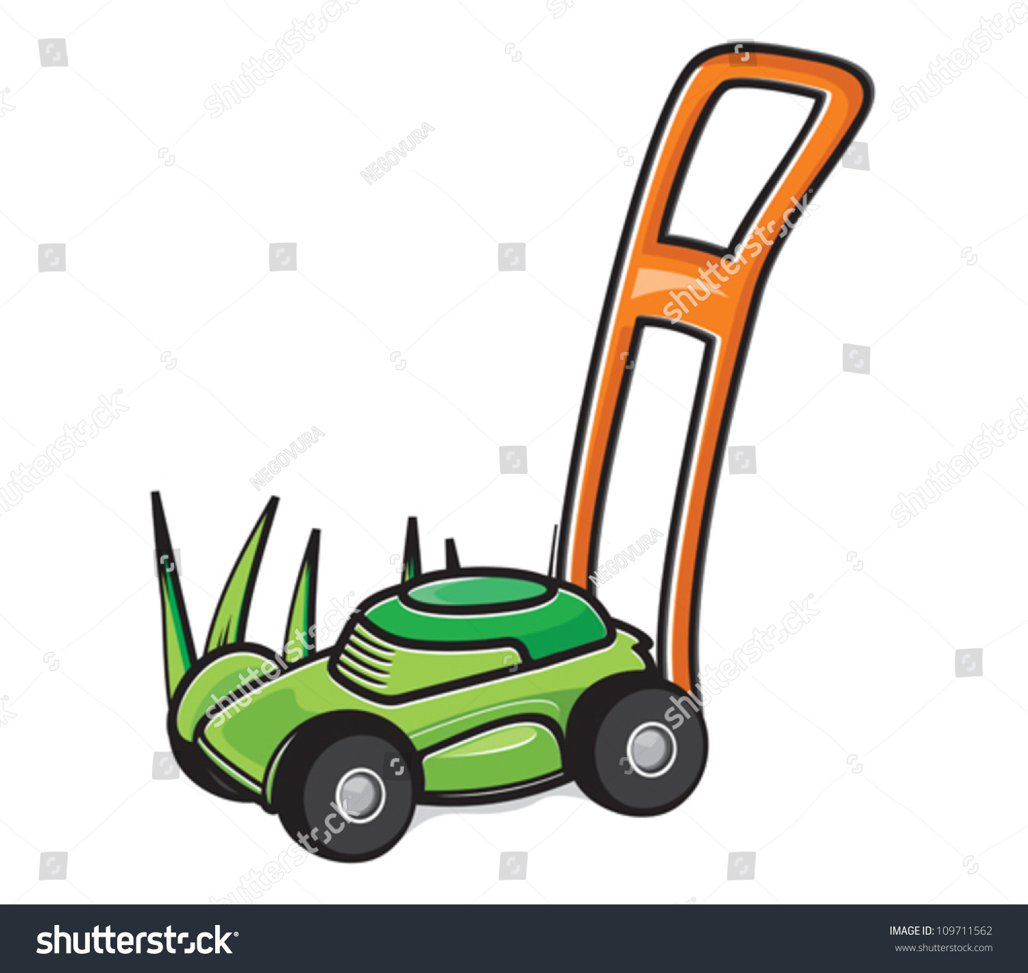lawn mower vector - photo #21