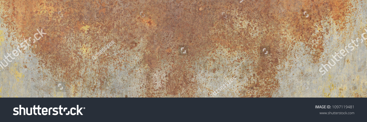 Large size, high resolution rusty metal texture. Suitable for graphic design, surface or pattern designs, print jobs and a lot more. Best for those who search for rusty, old, rough, metal textures. #1097119481
