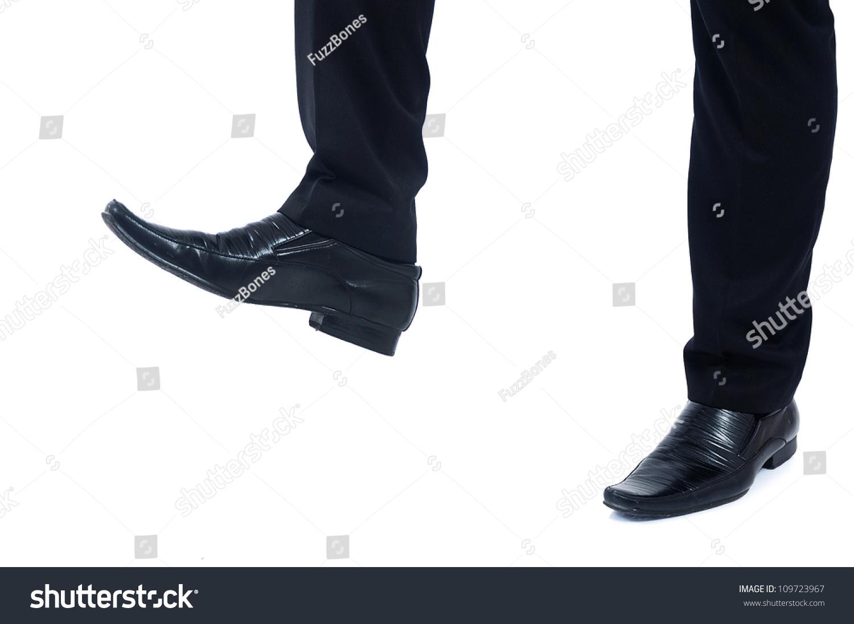 Трамплинг обувью фото