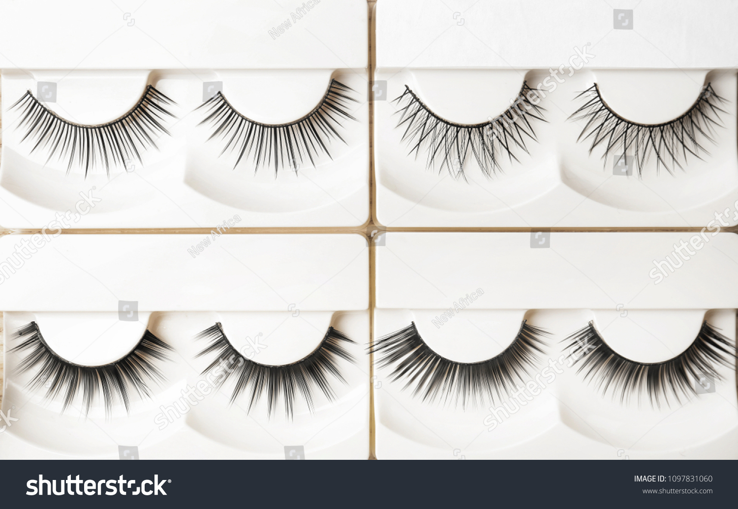 Different Types False Eyelashes Packs Top Stock Photo Edit Now