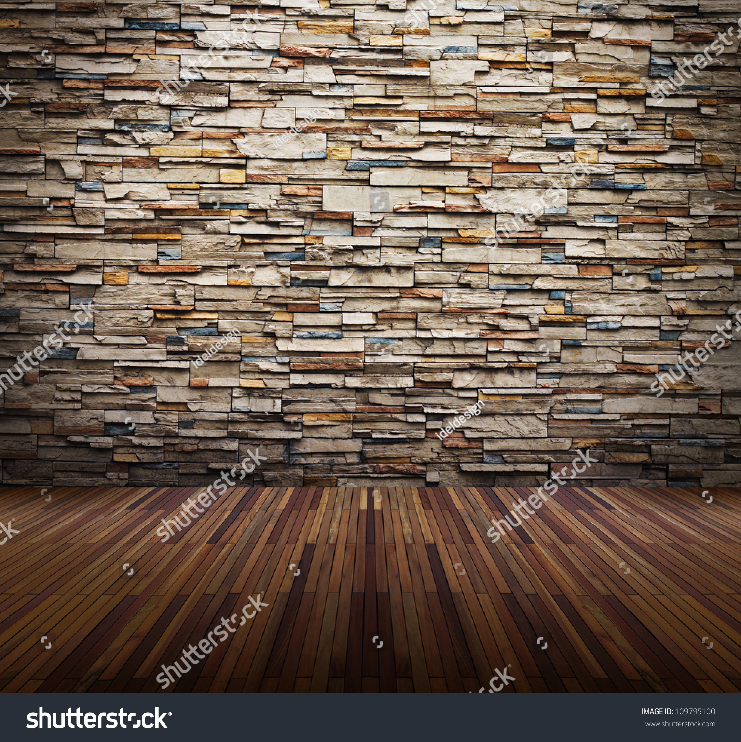 Old Interior Room Brick Wall Light Stock Photo 109795100 Shutterstock
