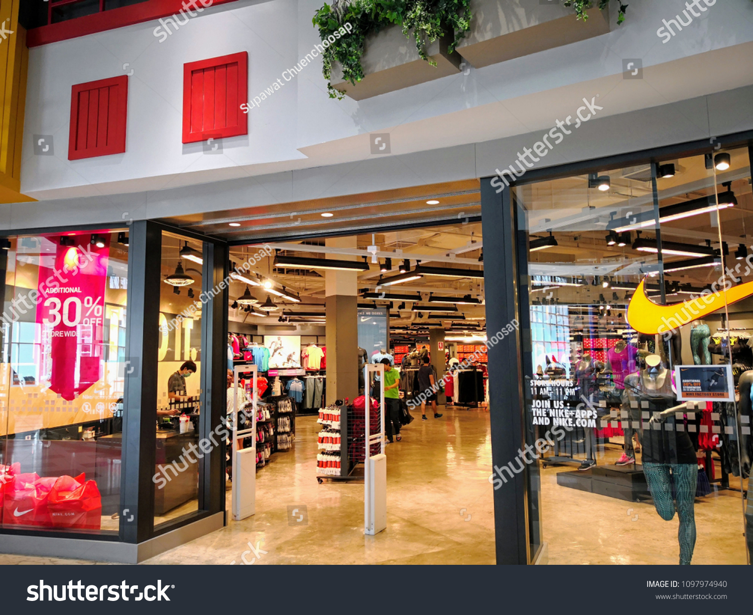 56d2513a2042c Pattaya Thailand April 20 2018 Nike Stock Photo (Edit Now ...