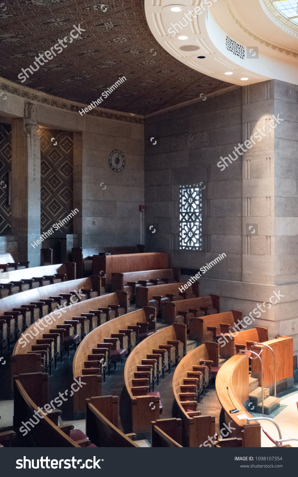 Buffalo NY USA - 6 November 2017 Interior of the Common Council Chamber on the 13th floor of City Hall in Buffalo New York. - Image & Buffalo NY USA 6 November 2017 Stock Photo (Edit Now) 1098107354 ...