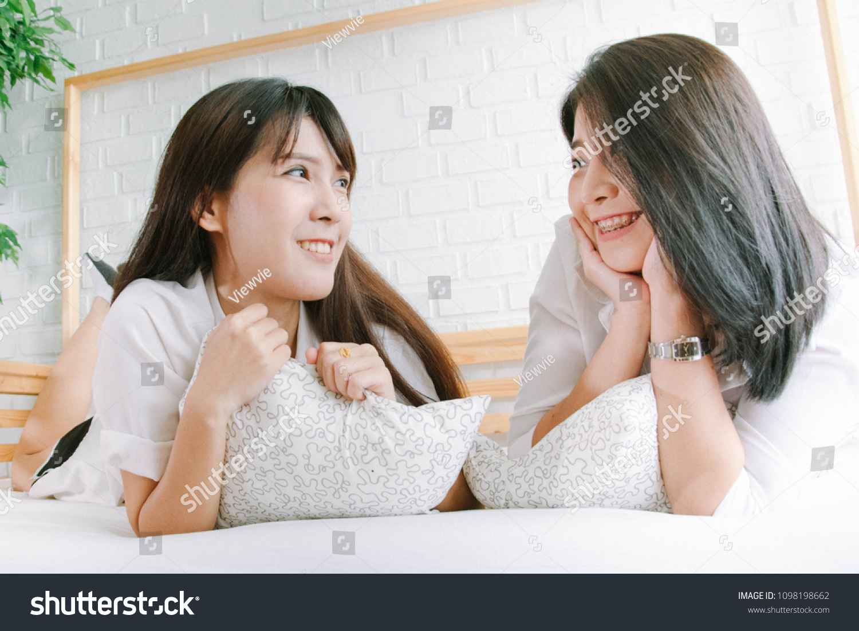 Pretty asian lesbians