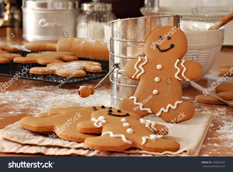 how to make gingerbread man cookies ingredients