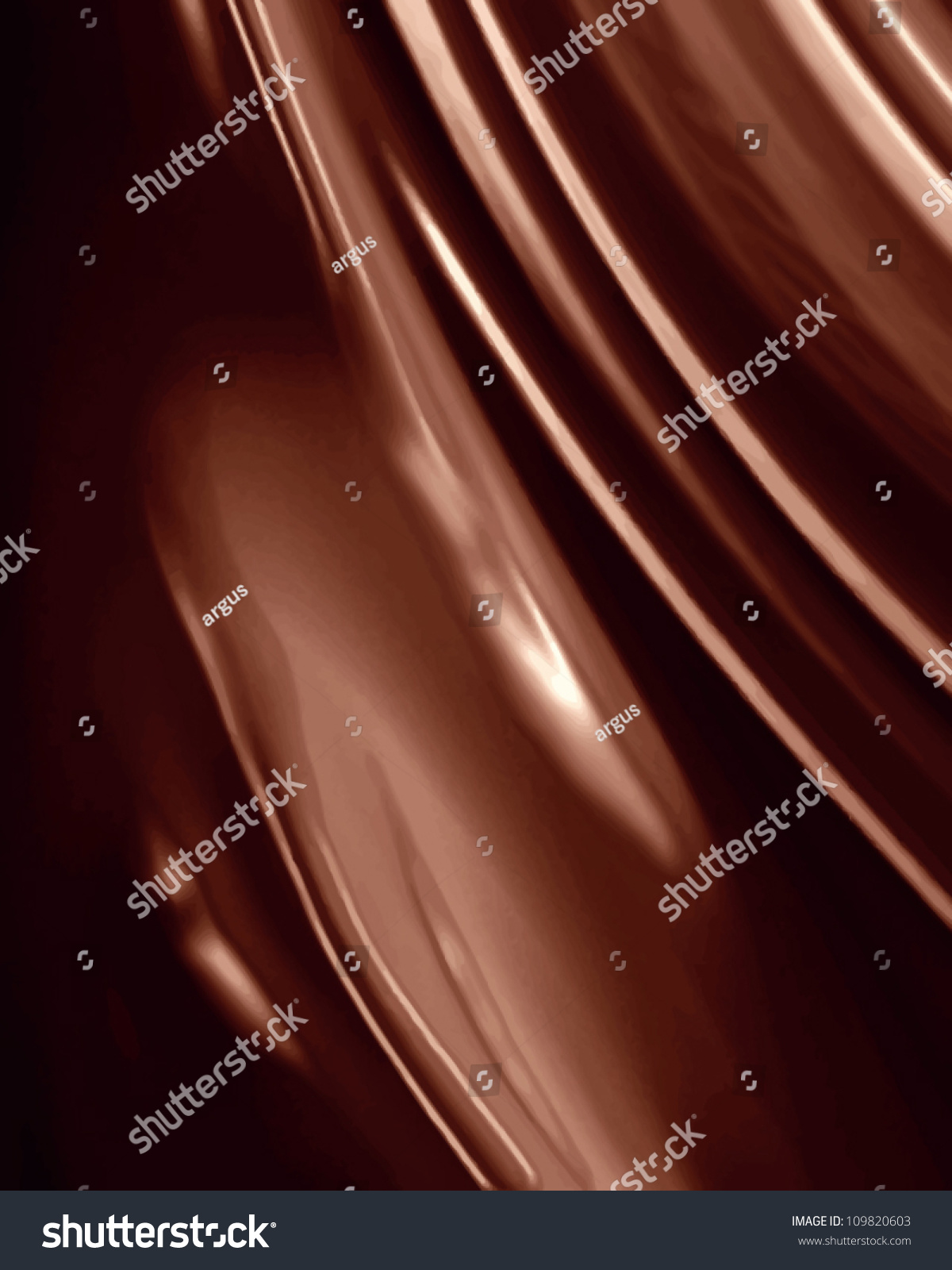 Vector Chocolate Background Some Soft Shades Stock Vector