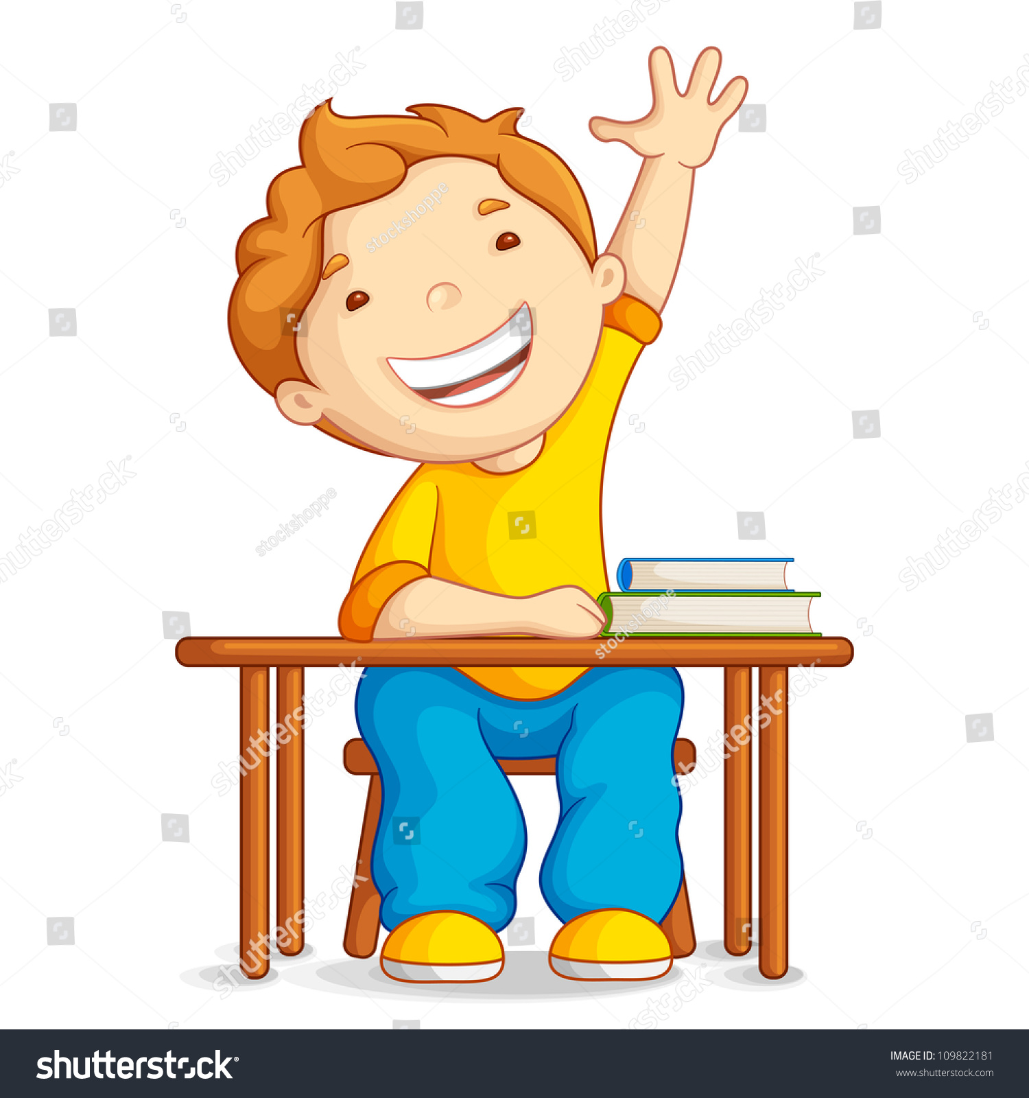 Boy Sitting Clip Art