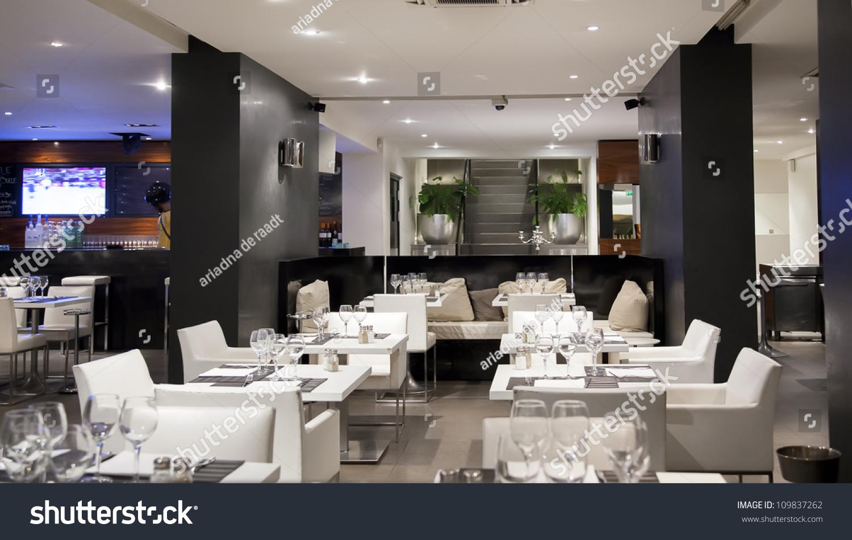 Interior Modern Restaurant Bar Stockfoto (Jetzt bearbeiten ...