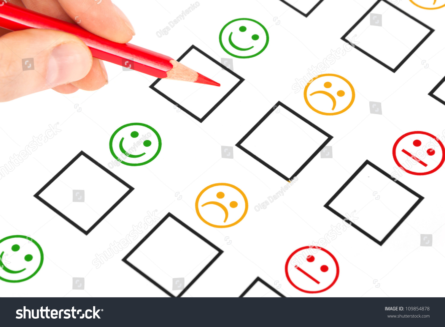 Customer Satisfaction Questionnaire Showing Marketing Business Stock Photo Customer Satisfaction Questionnaire Showing Marketing Or Business Concept  Stock Photo Customer Satisfaction Questionnaire Showing Marketing Or Business Concept