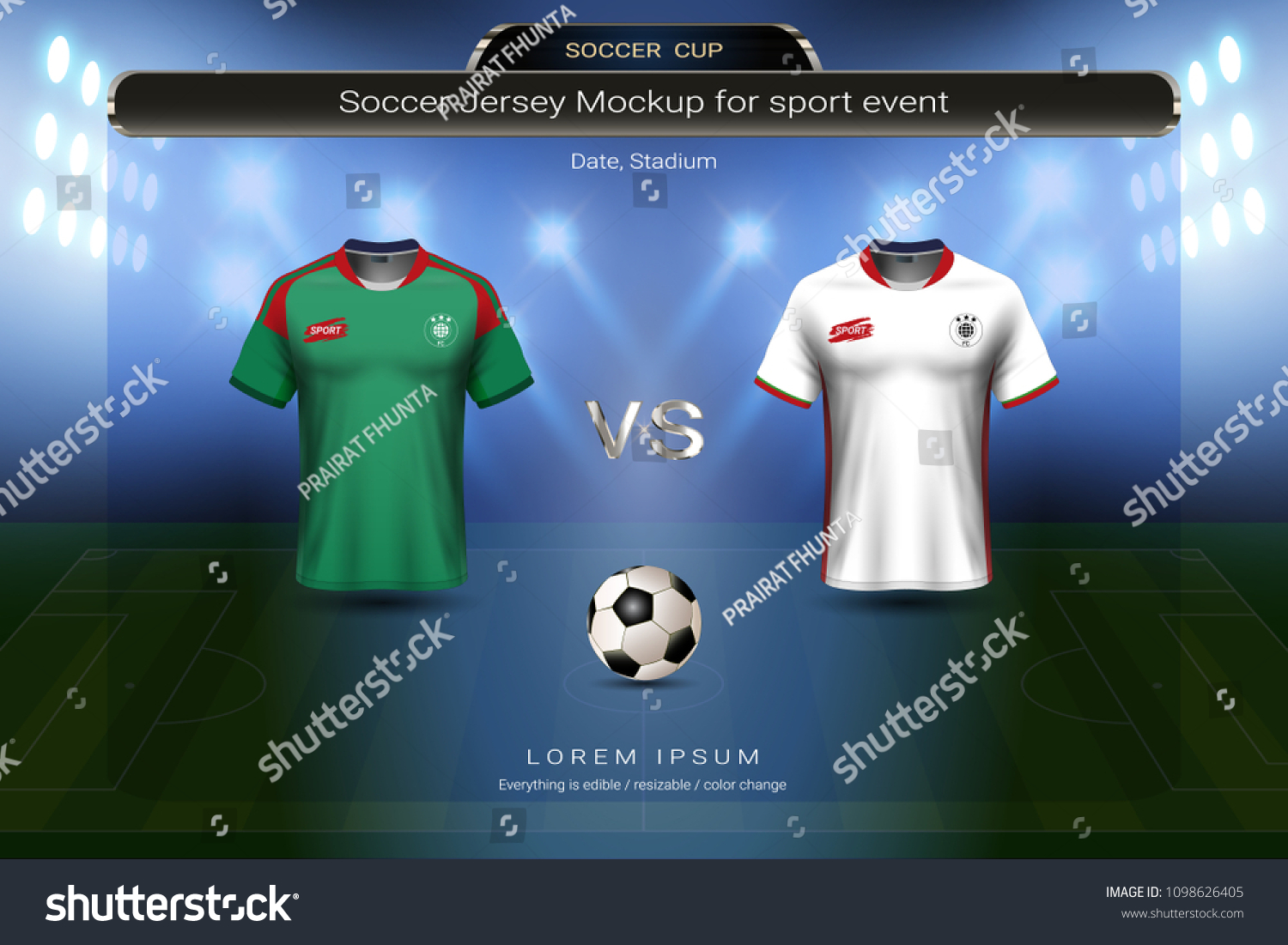9fd98bf89 Football Cup 2018 Group B Morocco Stock Vector (Royalty Free ...