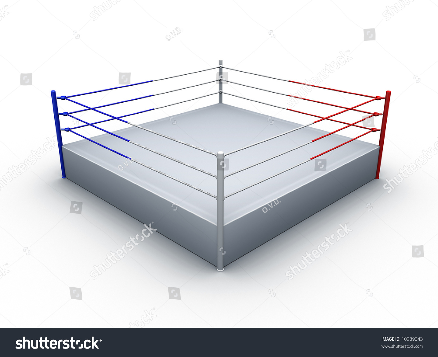 Boxing ring on white background stock illustration 10989343 boxing ring on white background ccuart Images