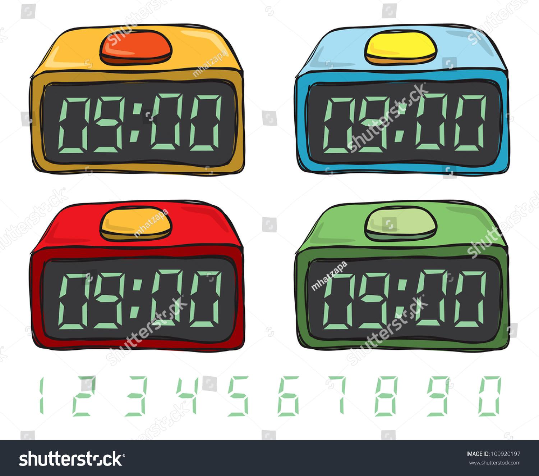 Showing post & media for Cartoon digital clock | www.cartoonsmix.com