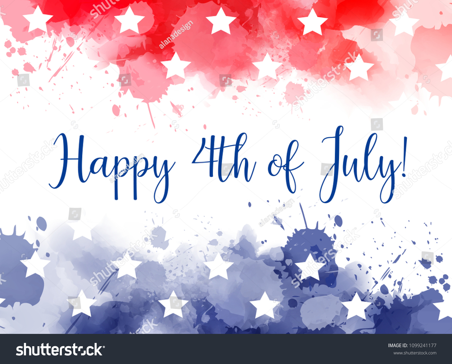 Watercolor 4th of July elements and symbols for design, isolated on white  background. Red, white and … | Patriotic decorations, Celebration balloons,  Patriotic flag