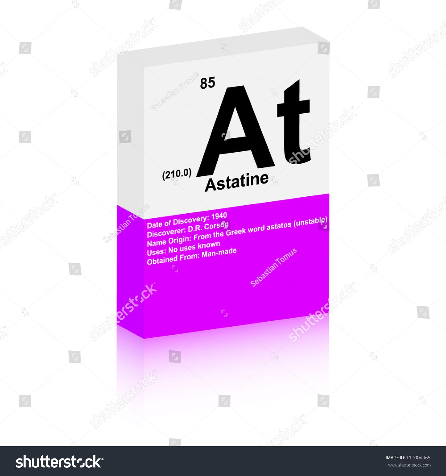 Astatine symbol stock vector 110004965 shutterstock astatine symbol gamestrikefo Image collections