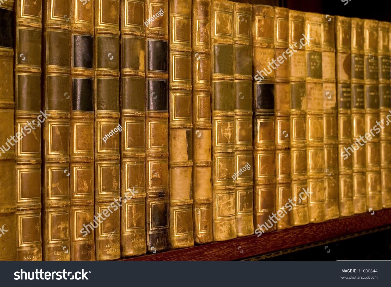 vintage bookshelf stock photos photo