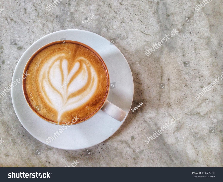 Morning Coffee Latte Cafe Restaurant Coffee Stock Photo