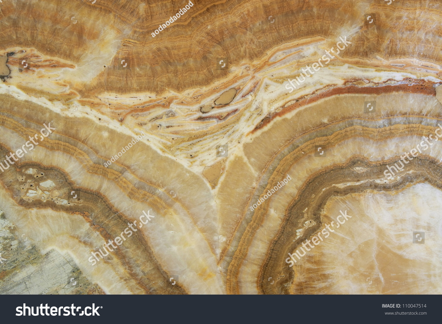 Natural Brown Granite Texture Stone Stock Photo 110047514