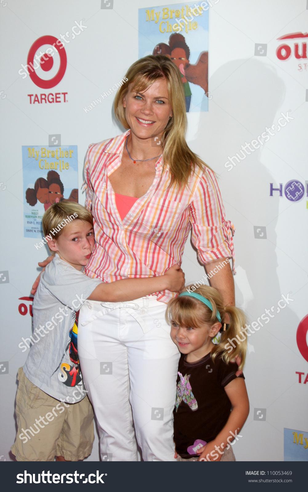 Alison Sweeney Family Pictures los angeles aug 12 alison sweeney stock photo (edit now
