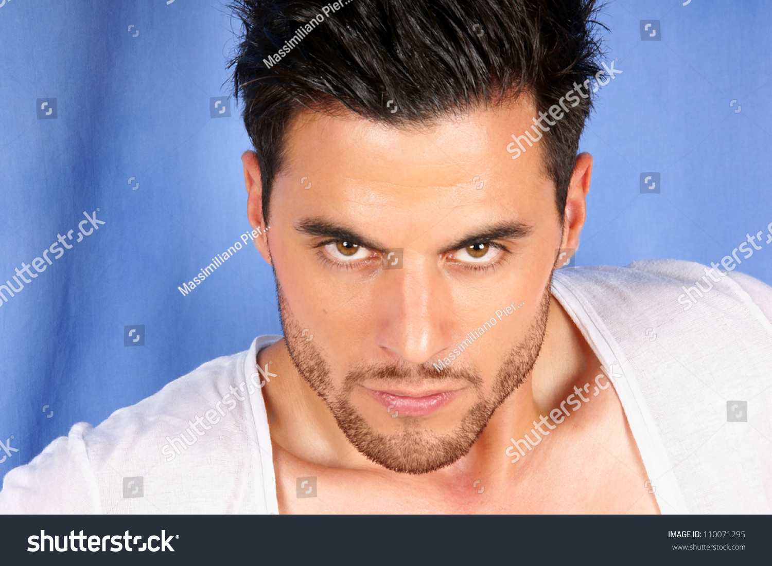 Handsome 30 Years Old Man Black Stock Photo Edit Now 110071295