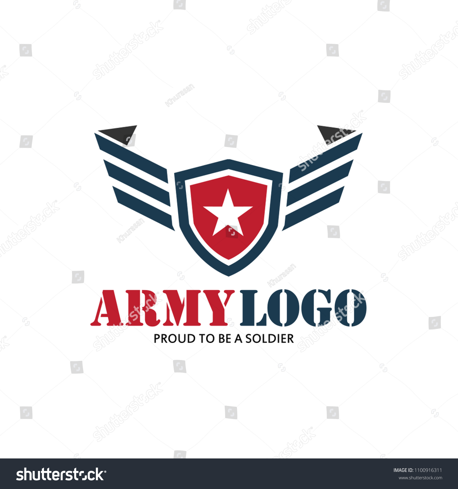 bceaac3aa Stock vector patriot army logo with military star wing modern logo vector  illustration jpg 1500x1600 Patriot
