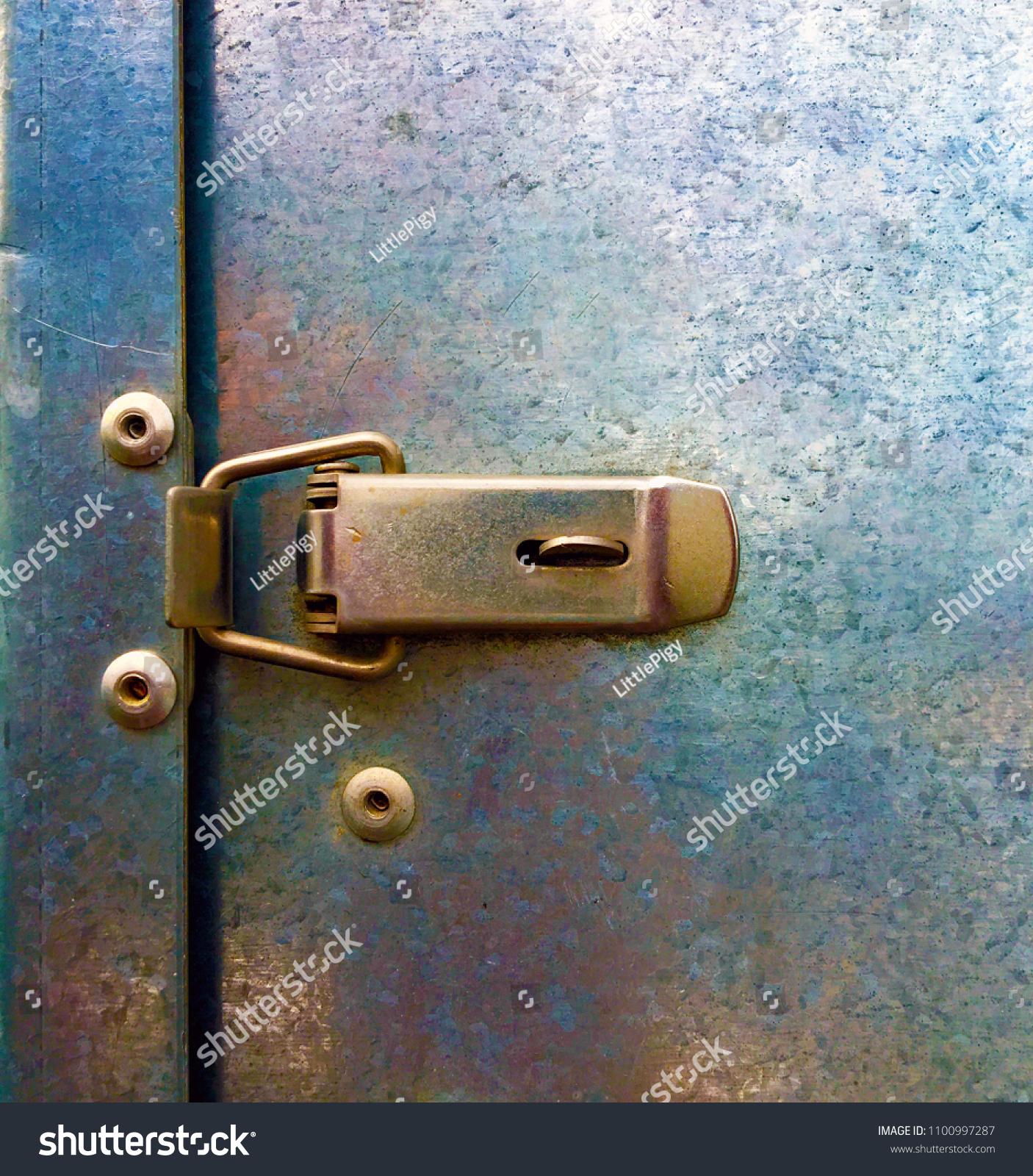 Clamp Locktoggle Latchstainless Steel Draw Latch Stock Photo