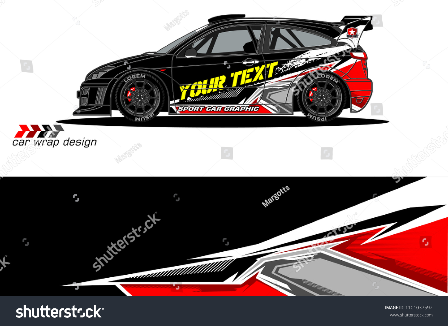 Race car livery vector designs abstract background for vehicle vinyl wrap design