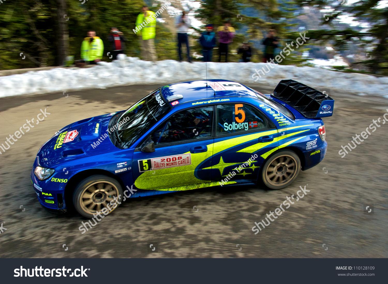 SOSPEL FRANCE JANUARY 27 Norwegian Rally Stock Photo (Royalty Free ...