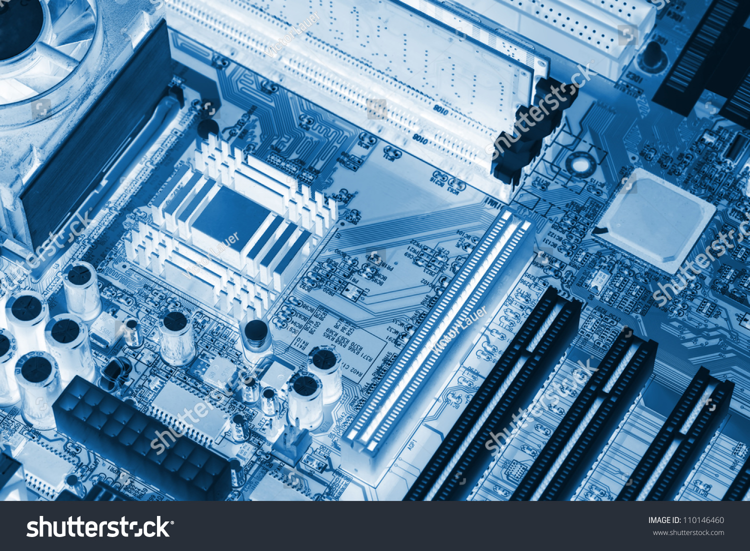 Microchip Background Closeup Electronic Circuit Board Stock Photo Up Close Of With Processor X Ray