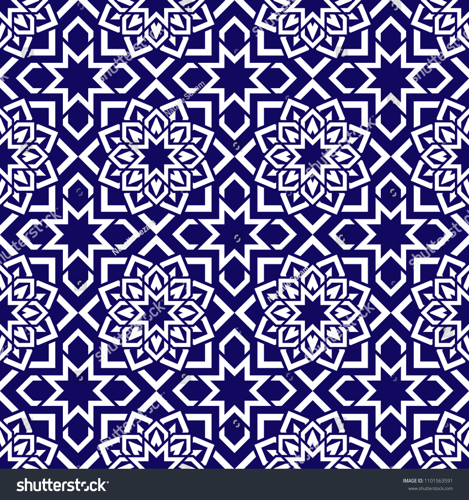 Asian Geometric Background Dark And White Islamic Backdrop Arabic Template