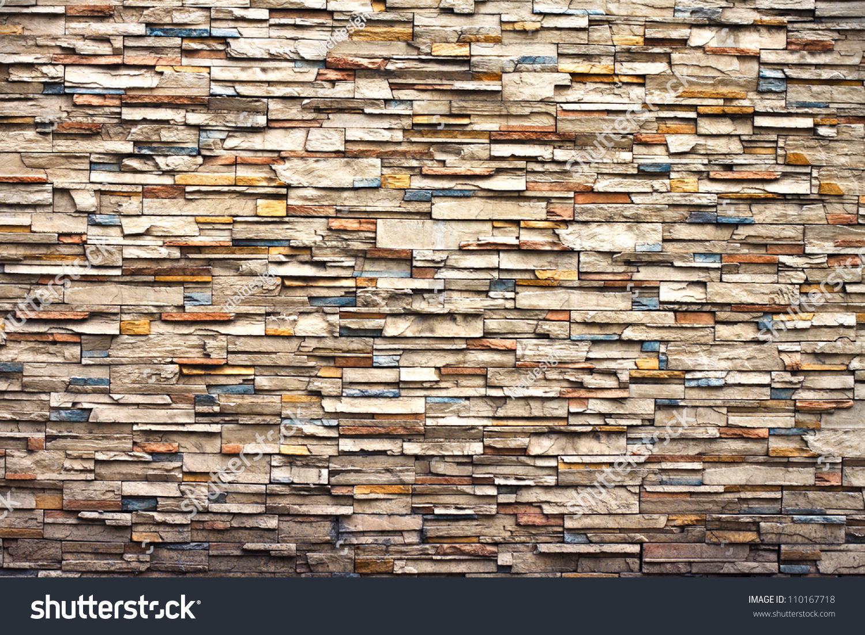 New design pattern modern brick wall stock photo 110167718 for Brick wall modern design
