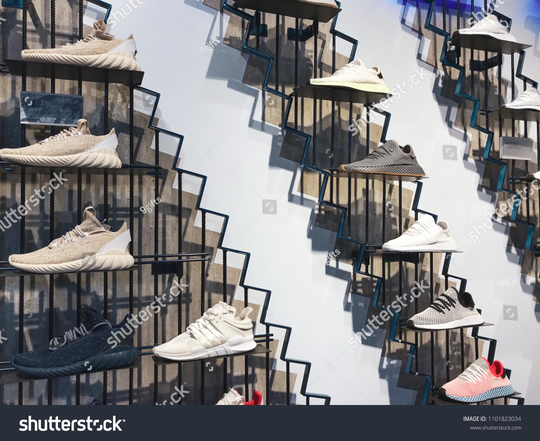 Bangkok Thailand May 29 2018 Adidas Stock Photo (Edit Now) 1101823034