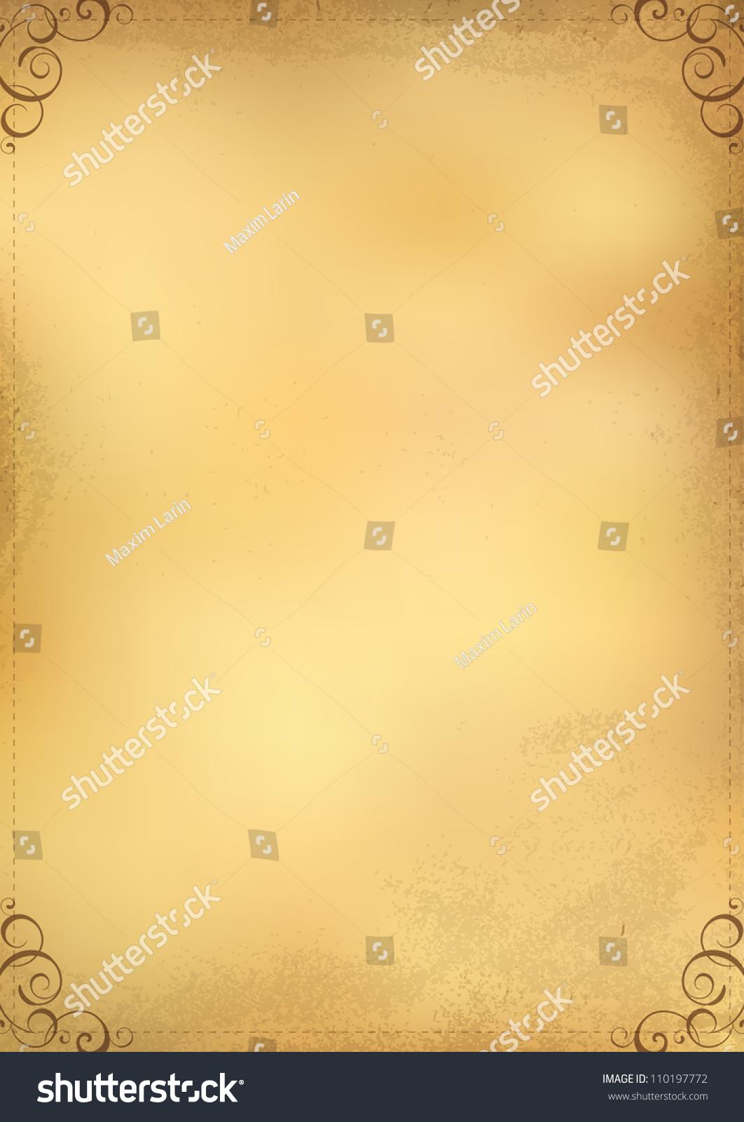 design menu background vintage paper stock vector