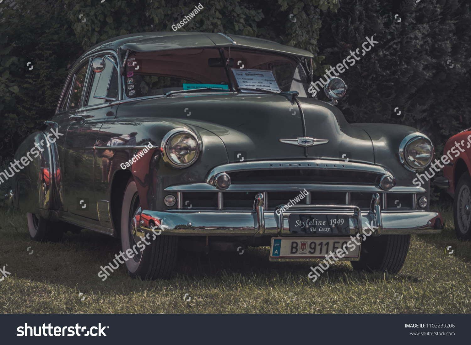 Hetzlinshofen Germany May 27 2018 1949 Stock Photo Edit Now Chevy Styleline Deluxe Chevrolet De Luxe At The