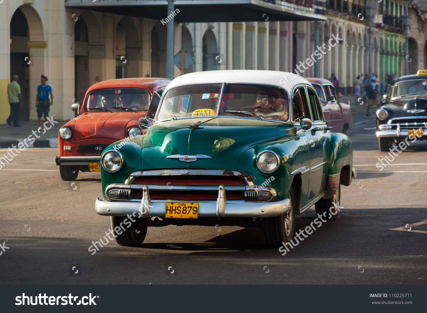 Havanaaugust 14several Old Classic Cars August Stock Photo 110225711 ...