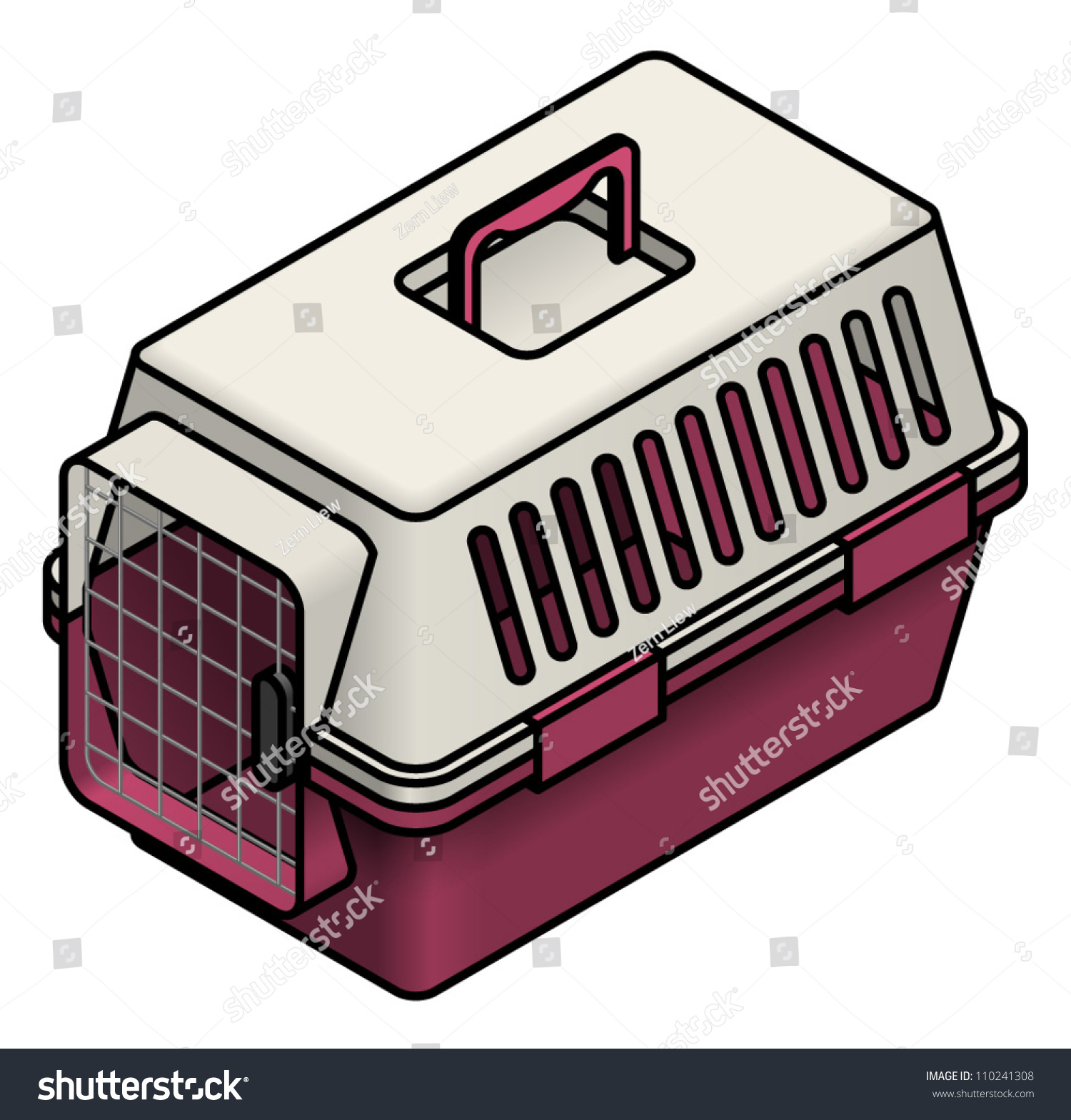 cat cage clipart - photo #19